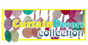 Collection de rideau en Capiz